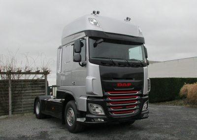 Carrosserieherstellingen vrachtwagencabine